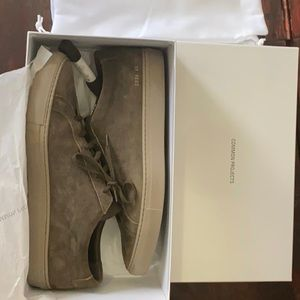 Common Projects Achilles Low - olive suede size 45